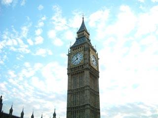 ロンドンといったらとりあえずビッグベン